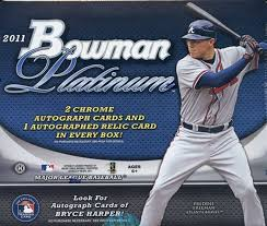 Pick a Pack 2011 Bowman Platinum MLB 2