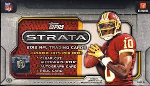 Pick a Pack 2012 Topps Strata FB 3