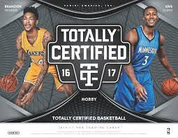 Pick a Pack 2016-17 Totally Certified BK 7
