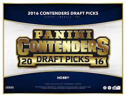 Pick a Pack 2016 Contenders Draft Picks FB 50