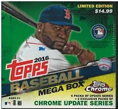 Pick a Pack 2016 Topps Baseball Mega Box MLB 1