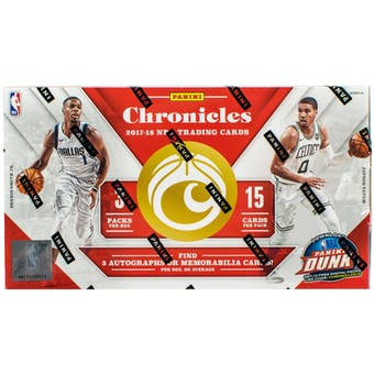 Pick a Pack 2017-18 Chronicles BK 1