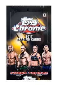 Pick a Pack 2017 Topps Chrome UFC 6
