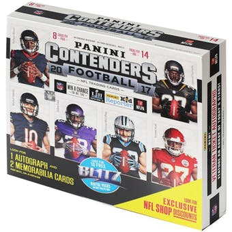 Pick a Pack 2017 Contenders 14 Pack Ultra Box FB 4