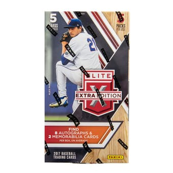 Pick a Pack 2017 Elite Extra MLB 4