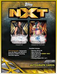 Pick a Pack 2017 Topps NXT Wrestling 2