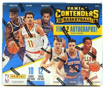 Pick a Pack 2018-19 Contenders BK 1