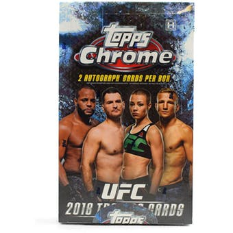 Pick a Pack 2018 Topps Chrome Hobby UFC 1