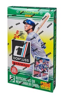 Pick a Pack 2018 Donruss MLB 14