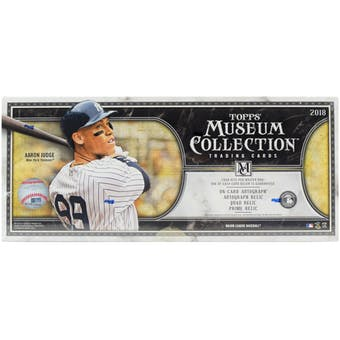 Pick a Pack 2018 Topps Museum MLB 1