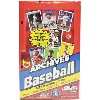 Pick a Pack 2019 Topps Archives MLB 4