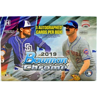 Pick a Pack 2019 Bowman Chrome HTA Box MLB 3