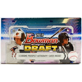 Pick a Pack 2019 Bowman Draft Jumbo MLB 6