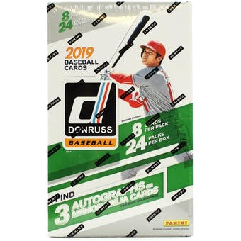 Pick a Pack 2019 Donruss MLB 4