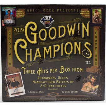 Pick a Pack 2019 Goodwin Champions 27