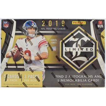 Pick a Pack 2019 Panini Limited FB 2