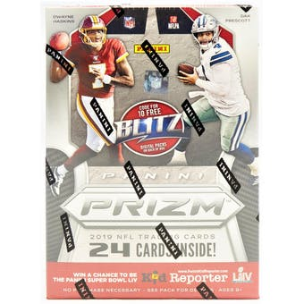 Pick a Pack 2019 Prizm Blasters FB 4