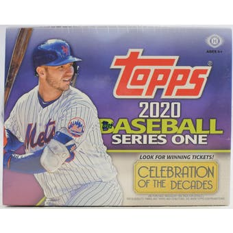 Pick a Pack 2020 Topps Series 1 Jumbo MLB 3