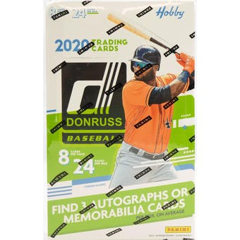 Pick a Pack 2020 Donruss MLB 8