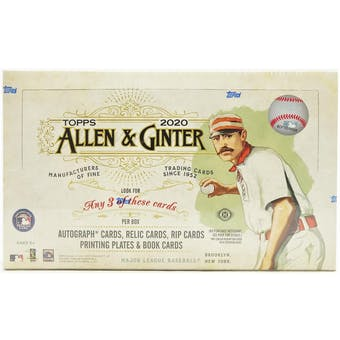 Pick a Pack 2020 Allen Ginter MLB 5
