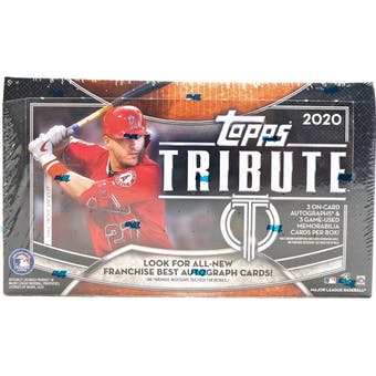 Pick a Pack 2020 Topps Tribute MLB 2