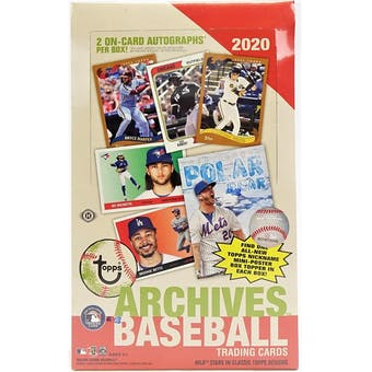 Pick a Pack 2020 Topps Archives MLB 4