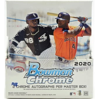 2020 Bowman Chrome Hobby Half Case Extra Player Random 2