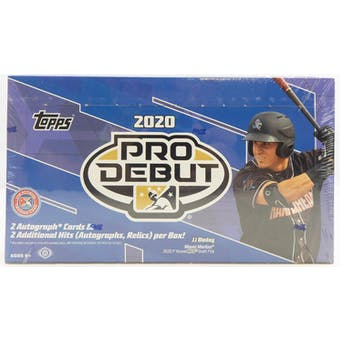 Pick a Pack 2020 Pro Debut Hobby MLB 4