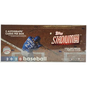 Pick a Pack 2020 Topps Stadium Club MLB 5