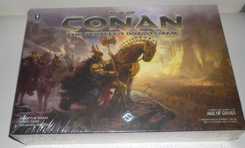 Age Of Conan The Strategy Board Game  - 1