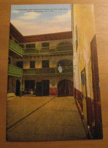 Courtyard & Prison Rooms Cabildo New Orleans LA Louisiana Postcard