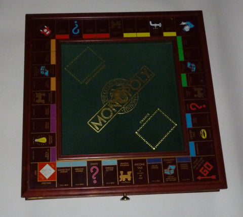 Franklin Mint Collector's Edition Monopoly Board Game