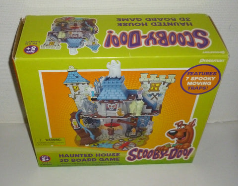 Scooby Doo Haunted House Board Game
