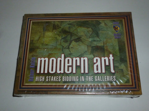 Board Games - Modern Art Card Game