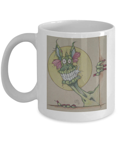 Coffee Mug - I'm Baaack Dragon Coffee Mug