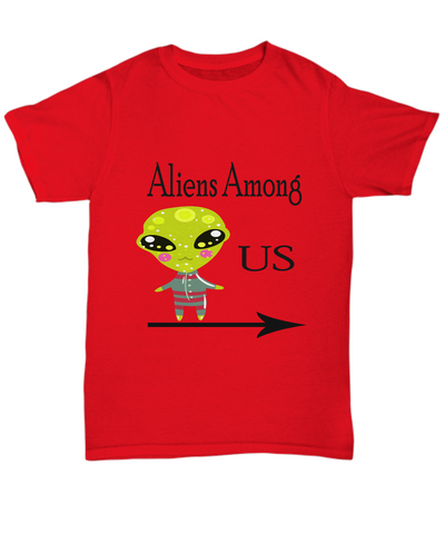 Aliens Among Us Tshirt
