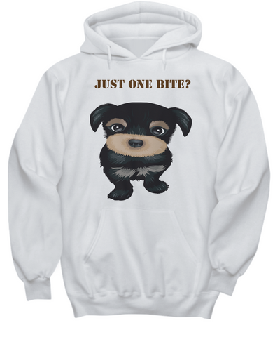 Dog Just One Bite Hoodie Sweatshirt