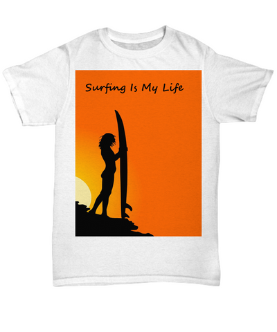 Surfing Is My Life Tshirt