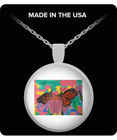 Butterfly Love Pendant Necklace