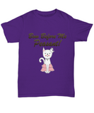 Bow Before Me Peasant Cat Tshirt