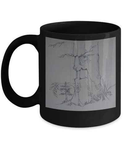 Protector Tree Man Coffee Mug