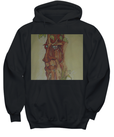 Yellow Tree Man Hoodie Sweatshirt