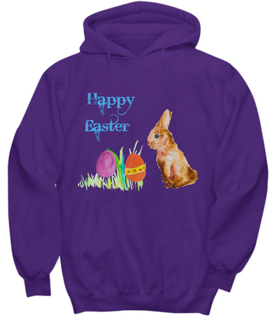 Happy Easter Bunny Rabbit Hoodie Sweatshirt
