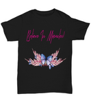 Believe In Miracles Butterfly Tshirt