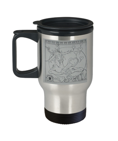 Dragon Eye Love You Travel Mug