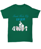 Friends Make Life Easier Easter Bunny Easter Eggs Tshirt