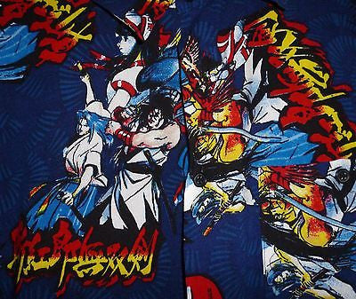 Hawaiian Shirts - Emvo Anime Mange Samaria Hawaiian Shirt Size Large