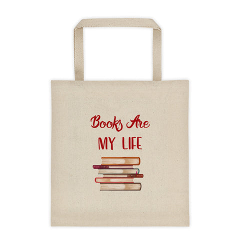 Books Are My Life Tote Bag