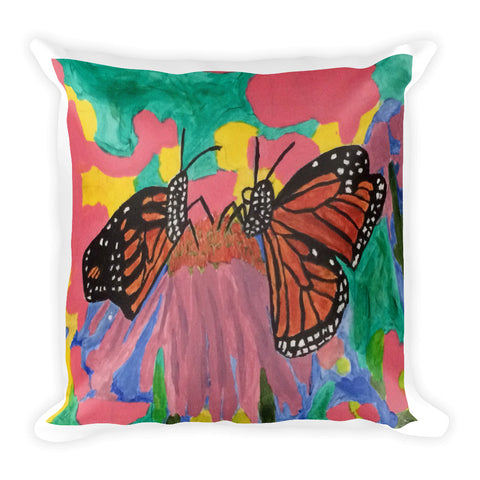 Butterfly Love Pillow
