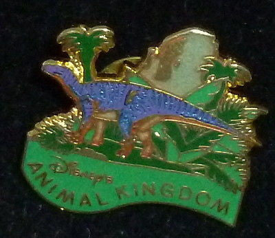 Pins & Brooches - Disney Animal Kingdom Purple Dinosaur Pin